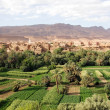 Morocco landscape - Stock Photo