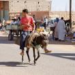Morocco transportation — Stock Photo