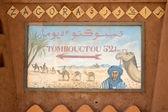 Timbuctu cinqüenta e dois dias de viagem — Foto Stock