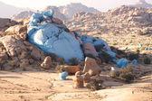 Multidimensional work granite landscape Morocco — Stock Photo