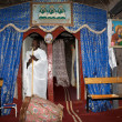 Priest at Adadi Maryam church Ethiopia — 图库照片 #21744109
