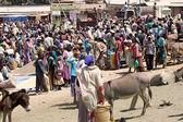 африканских сельских рынка — Стоковое фото