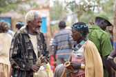 African men are speaking — Stock Photo
