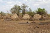 African village — Stock Photo