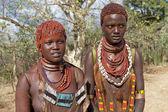 非洲部落妇女 — 图库照片