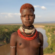 African tribal woman - Stock Photo