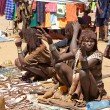 African tribal market — Stock Photo