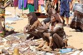 Marché tribal africain — Photo
