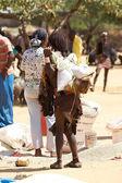 在市场上的非洲女人 — 图库照片