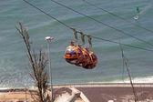 Haifa cable way — Stock Photo