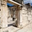 Capharnaum synagogue — Stock Photo