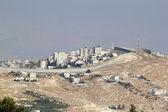 Israeli West Bank barrier — Stock Photo