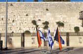 Jerusalem Western Wall — Stock Photo