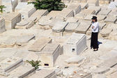 židovský hřbitov — Stock fotografie