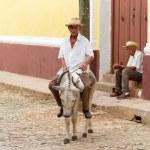 hombre cubano — Foto de Stock