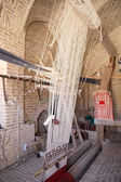 вертикальный ткацкий станок — Стоковое фото