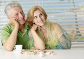 Nice couple at the resort — Stock Photo