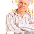 Smiling elderly male — Stock Photo #12840458