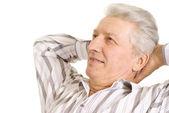 Lugna äldre man — Stockfoto