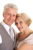 Wonderful elderly couple — Stock Photo