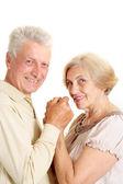 精湛的老年夫妇 — 图库照片