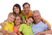 Big Family Portrait — Stock Photo