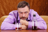 Man dronken — Stockfoto