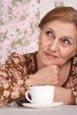 Cute older woman — Stock Photo