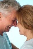 Beautiful older couple — Stock Photo