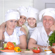 Grandparents and their grandchildren — Stock Photo #29177933