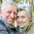 Happy older couple — Stock Photo