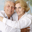 Stock Photo: Attractive old people at resort