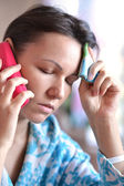 Young woman call — Stock Photo