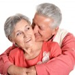 Stock Photo: Happy middle-aged couple
