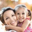 Mother with her daughter — Stock Photo #29181931