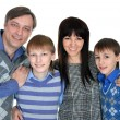 Happy family smiling — Stock Photo #29183979