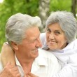 Happy elder couple — Stock Photo #29184085