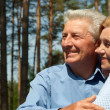 Stock Photo: Adorable old people