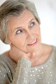 Portrait of a senior woman — Foto de Stock