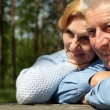 Stock Photo: Coot old people