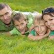 Parents and children — Stock Photo #29825423