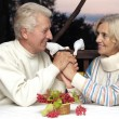 Stock Photo: Beautiful old people