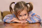 Güzel bir bebek portresi — Stok fotoğraf