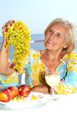 Superb adult woman — Stock Photo