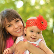 Happy mother with her daughter — Stock Photo #30070185