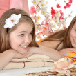 Two young girls — Stock Photo #30735751