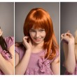 Different hair color — Stock Photo #30735983