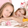 Two young girls — Stock Photo #30736173