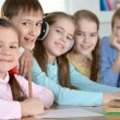 Group of friendly children — Stock Photo #30736595