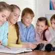 Group of friendly children — Stock Photo #30736813